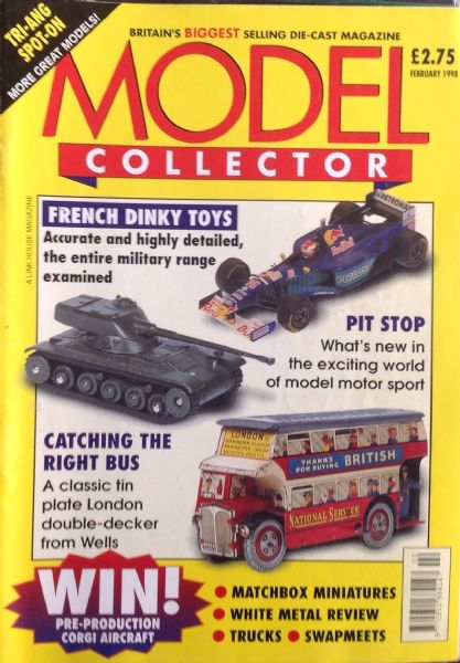 ORIGINAL MODEL COLLECTOR MAGAZINE February 1998